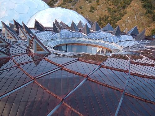 Eden Project Core Roof