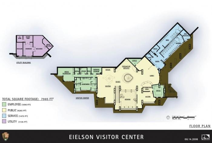Off The Grid Floor Plans Part - 48: Eielson Visitor Center Denali Floor Use Plan