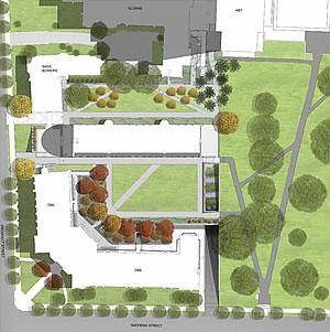 Kroon Hall Site Plan