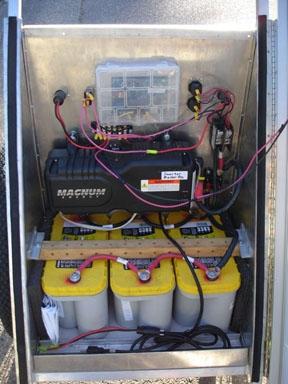 SolMan Mobile Solar Guts. The SolMan portable solar generator ...