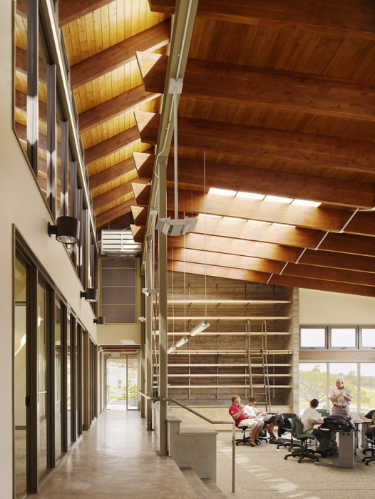 Hawaii Preparatory Academy Energy Lab Interior