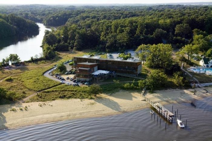 Chesapeake Bay Foundation Aerial