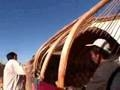 Watch Yurt Building in Kazakh Thumbnail