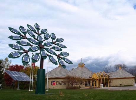 Solaripedia green architecture building projects in green solar tree london ontario sciox Image collections
