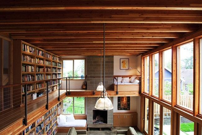 16 Harmonious Mezzanine Floors In Houses Home Building