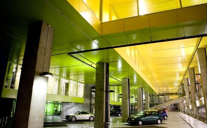 Modern roof terrace garden - Bjarke Ingels Group Designed The Mountain A Housing And Parking