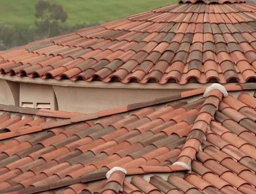 Roof tile spanish roof tiles for sale for Spanish tile roofs