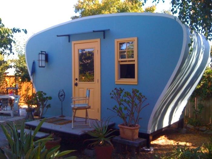 backyard pod structures backyard design
