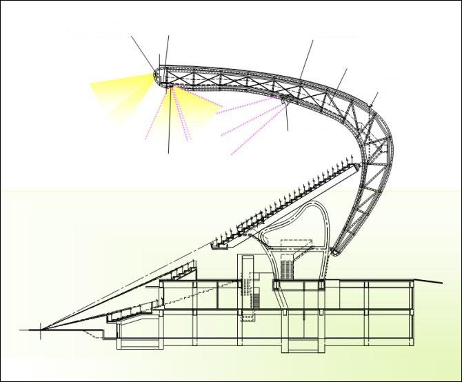 El primer estadio solar del mundo.