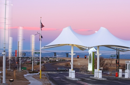 Denver Airport Green Parking Wind Turbines & Solaripedia | Green Architecture u0026 Building | Projects in Green ...