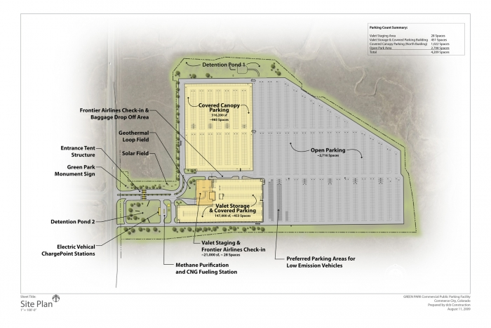 Denver Airport Green Parking Site Plan2  sc 1 st  Solaripedia | Green Architecture u0026 Building | Projects in Green ... & Solaripedia | Green Architecture u0026 Building | Projects in Green ...