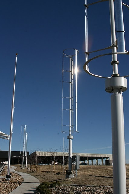 Denver Airport Green Parking Wind Turbine & Solaripedia | Green Architecture u0026 Building | Projects in Green ...