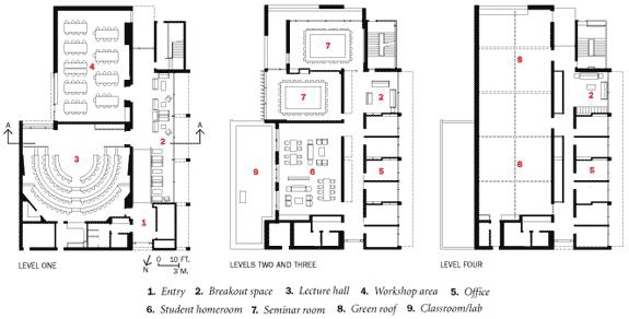 Solaripedia green architecture building projects in green seminar ii building floor plan ccuart Images