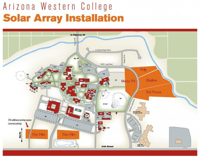 Campus Map Arizona.Solaripedia Green Architecture Building Projects In Green