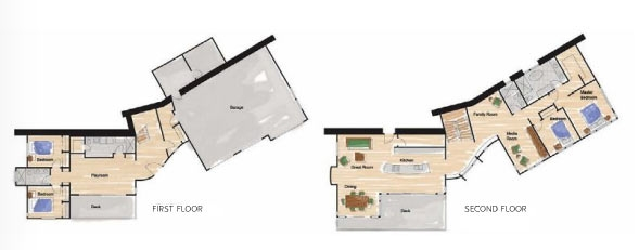 Sungazing House Floor Plans