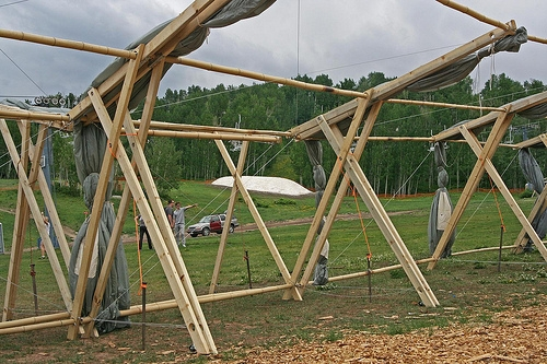 Eco Tent Frame & Solaripedia | Green Architecture u0026 Building | Projects in Green ...
