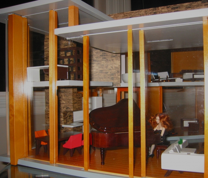 dollhouse sliding glass doors the ultra modern emerson house designed by brinca dada brinca dada bennett house modern dolls
