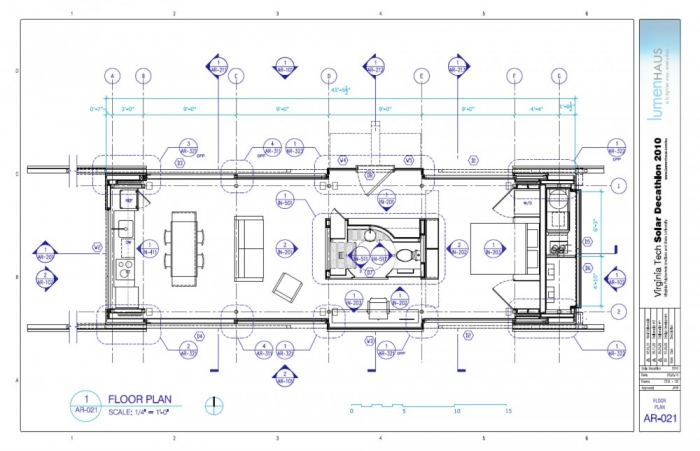 Sophisticated farnsworth house floor plan gallery best for Solar floor plans