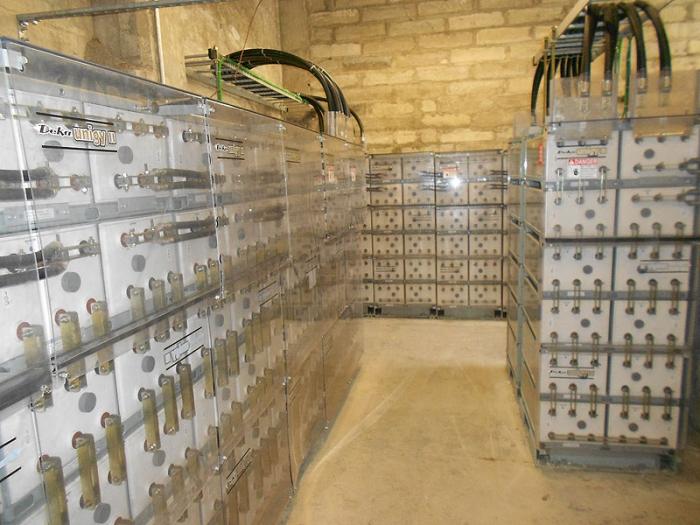 Alcatraz Solar Battery Storage