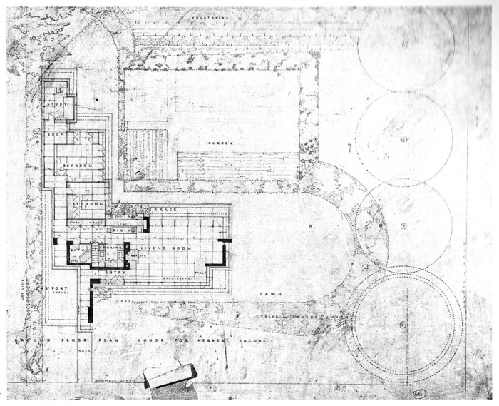 Frank Lloyd Wright House Plans Usonian