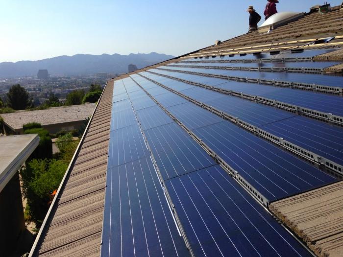 Solaripedia Green Architecture Building – Solar Cell Roof Shingles