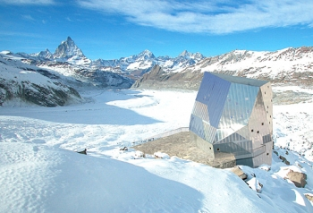 Monte Rosa Alpine Hut (Zermatt, Switzerland)