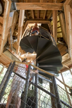 Camp Twin Lakes Spiral Stair(Georgia, USA)