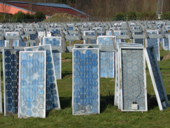 Recycling PV Modules in Belgium