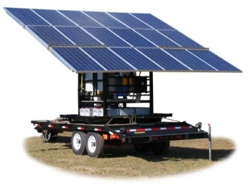 Water Filter Mobile Solar Panels
