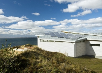 Truro Beach House Solar Panels