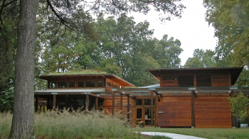 Bernheim Arboretum Visitors Center Exterior