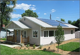 Habitat for Humanity Solar Home (Denver, Colorado, USA)