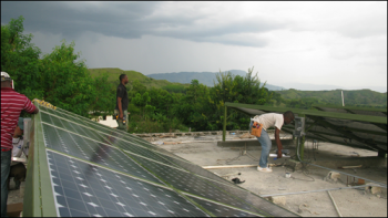 Solar Electric Light Fund PVs Haiti