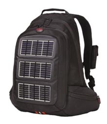 Camping Solar with Solar-Powered Backpack