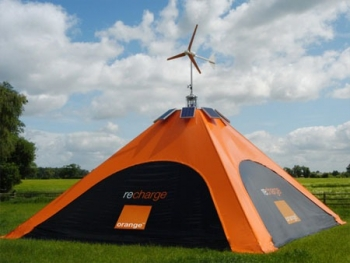 Camping Solar Wind tent