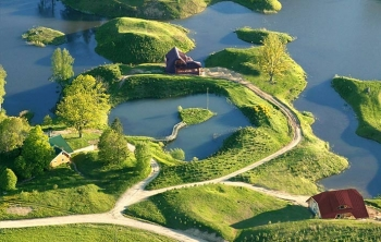 Sun City Latvia Aerial Water