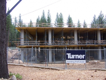 Tahoe Center Construction