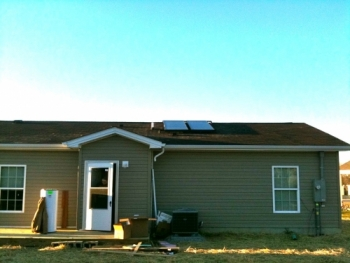 Habitat Solar Hot Water Berea KY
