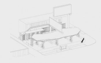 Helios House Drawing