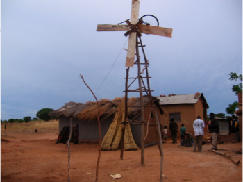 William Kamkwamba Windmill