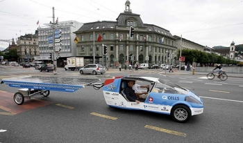 Solar Taxi and PVs
