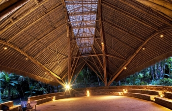 Bali Green School Bamboo Structure