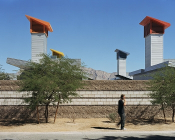 Animal Foundation Dog Park Ventilation Towers