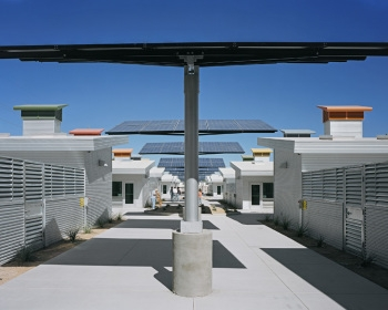 Animal Foundation Dog Park Solar Arrays