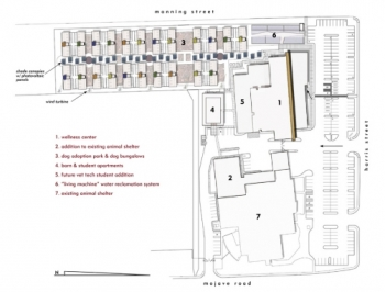 Animal Foundation Dog Park Site Plan