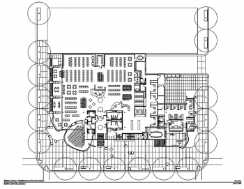 Ballard Library Floor Plan w Stacks