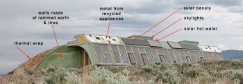 Earthship Overview Illustration