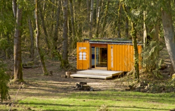 Cargotecture Studio in the Woods