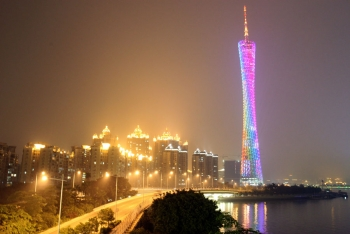 Canton Tower Lights Night