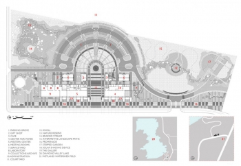 Water & Life Museums Site Plan and Context